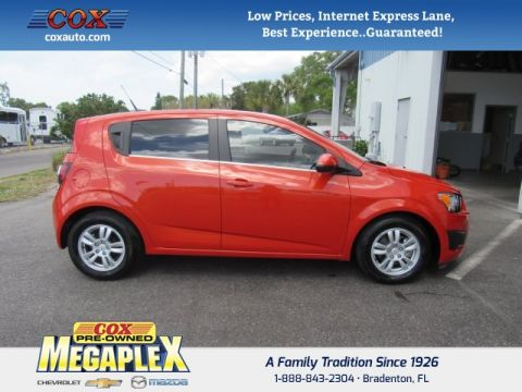 Used Chevrolet Sonic 2LT