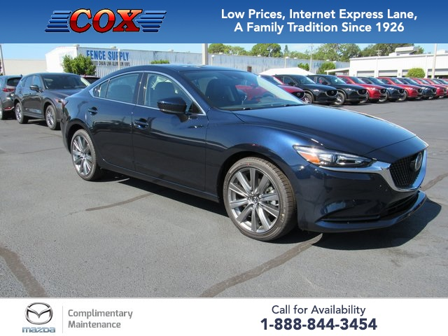 New 2019 Mazda6 Grand Touring FWD 4D Sedan