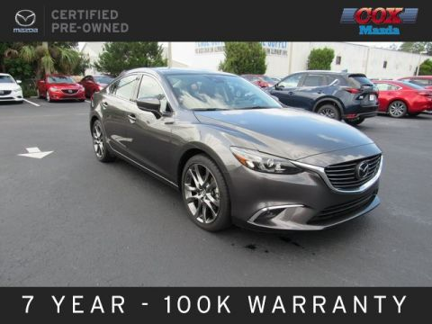 Certified Pre-Owned 2017 Mazda6 Grand Touring
