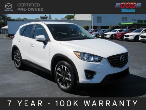 Certified Pre-Owned 2016 Mazda CX-5 Grand Touring FWD 4D Sport Utility
